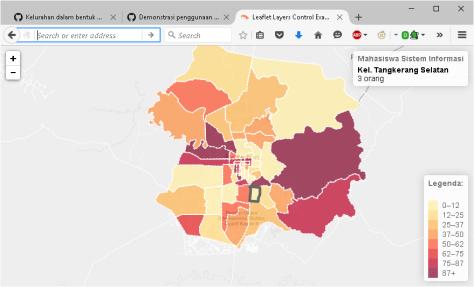peta tematik interaktif demo pekanbaru
